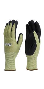 Parton comfortable bamboo garden gloves gardening flexible weeding pruning soft antibacterial grip
