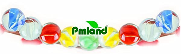 PMLAND Cats Eyes Glass Marbles