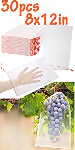 8x12 Fruit Protection Bags