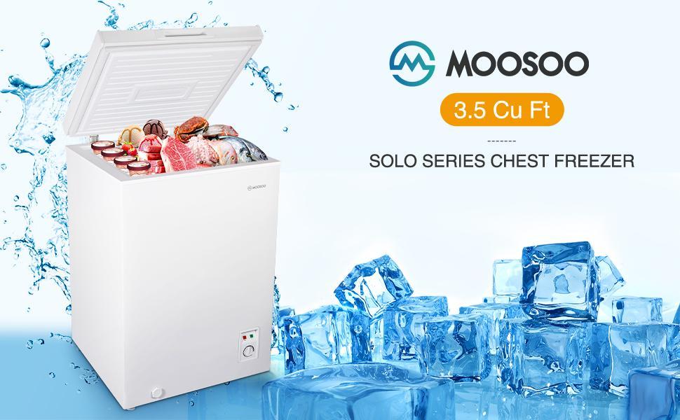 3.5 Cu Ft chest freezer