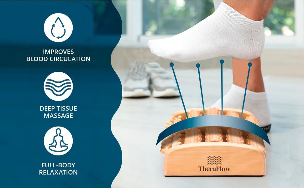 TheraFlow Foot Massage Roller (Large) Benefits