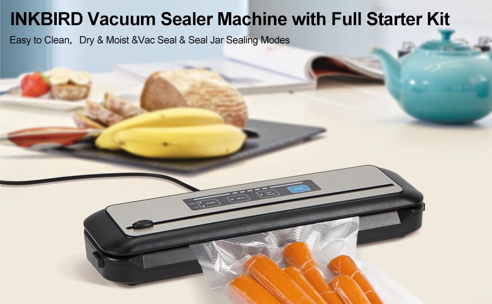 Inkbird Vacuum Sealer Machine with Full Starter Kit