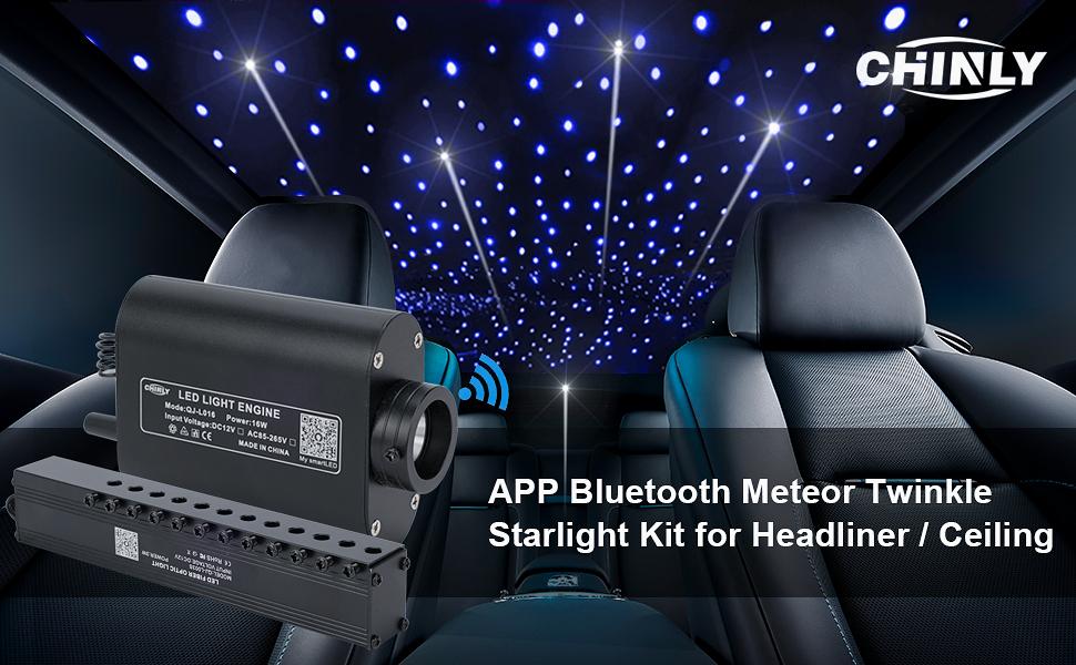 Meteor Twinkle Starlight Kit For Headliner and Ceiling