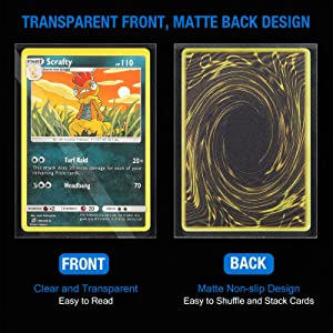 pokemon card Sleeves