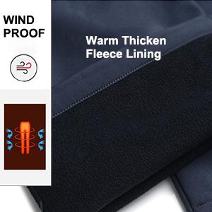 youth fleece lined windproof waterproof youth insulated ski pants
