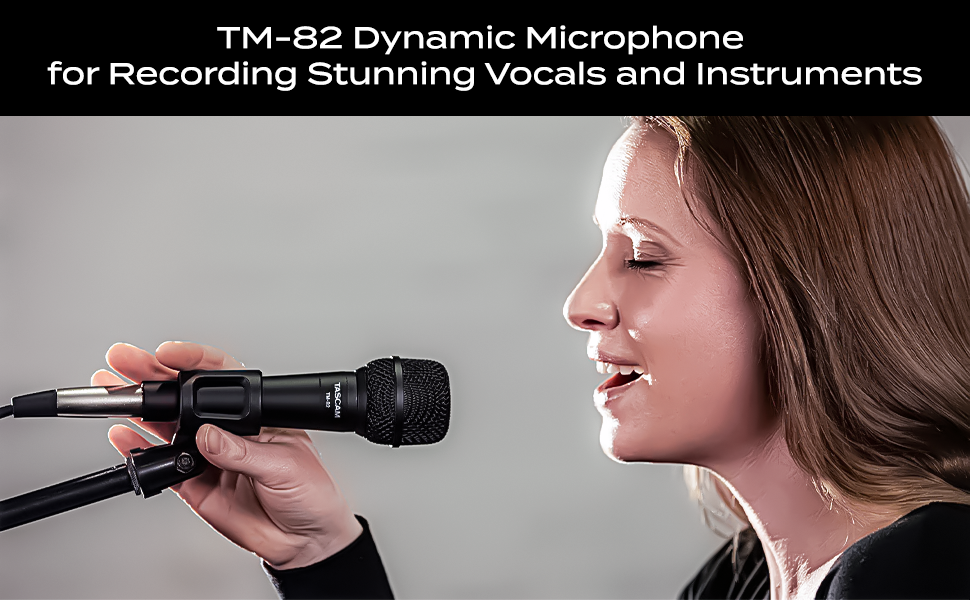 TM-82  Dynamic Microphone for Recording Stunning Vocals and Instruments