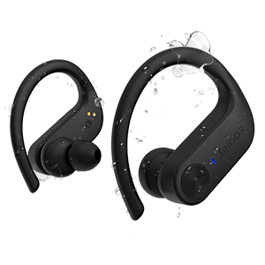 AIHOOR A7 IPX5 Waterproof and Sweat-proof Wireless Earbuds for Workout Running Gym Sports