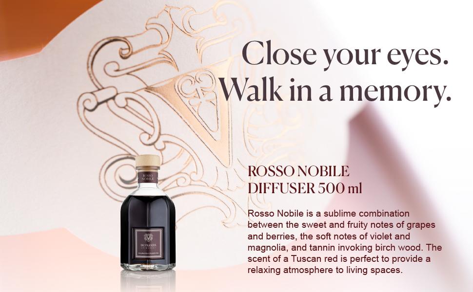 dr vranjes diffuser rosso nobile home fragrance luxury scent