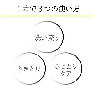 3つの使い方