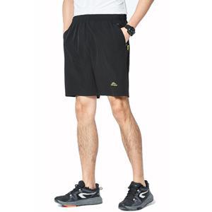 CHEXPEL Men's Outdoor Sports Quick Dry Gym Running Shorts Zipper Pockets