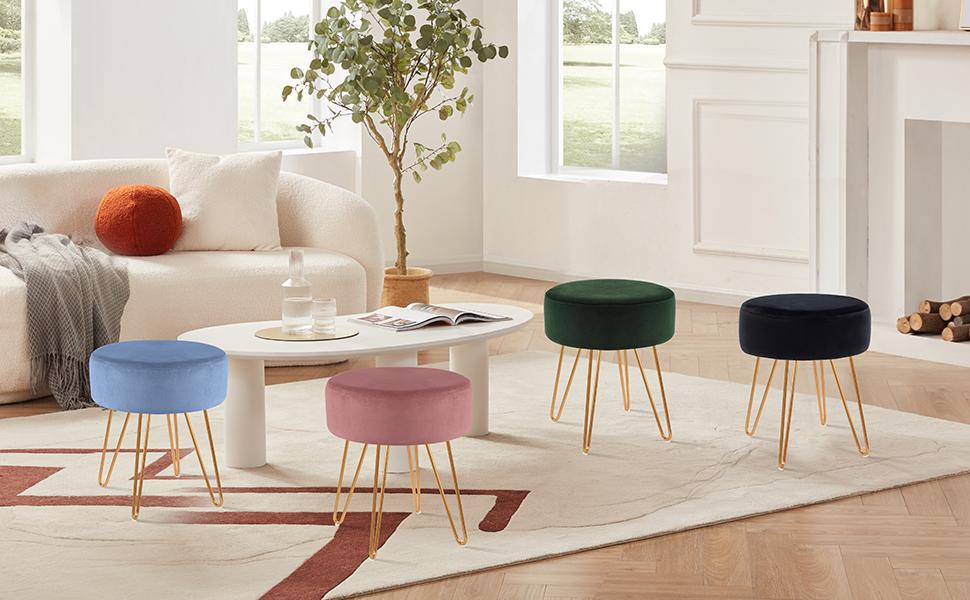 Modern short stool