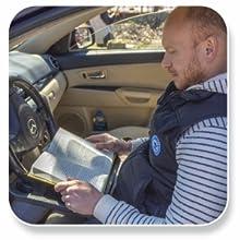 EcoNour Steering Wheel Desk Tray Portable Wheelmate reading