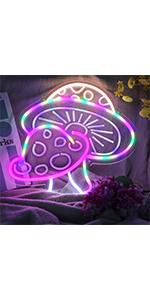 Mushroom Neon Sign