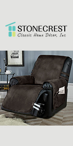 faux leather slipcover
