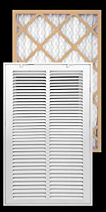 Filter included Return Air Filter Grille