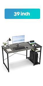 39 Oak Computer Desk