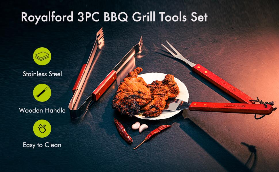 BBQ Grill Tools Set Barbecue Accessories BBQ Grilling Utensils Set for Outdoor Camping grill set
