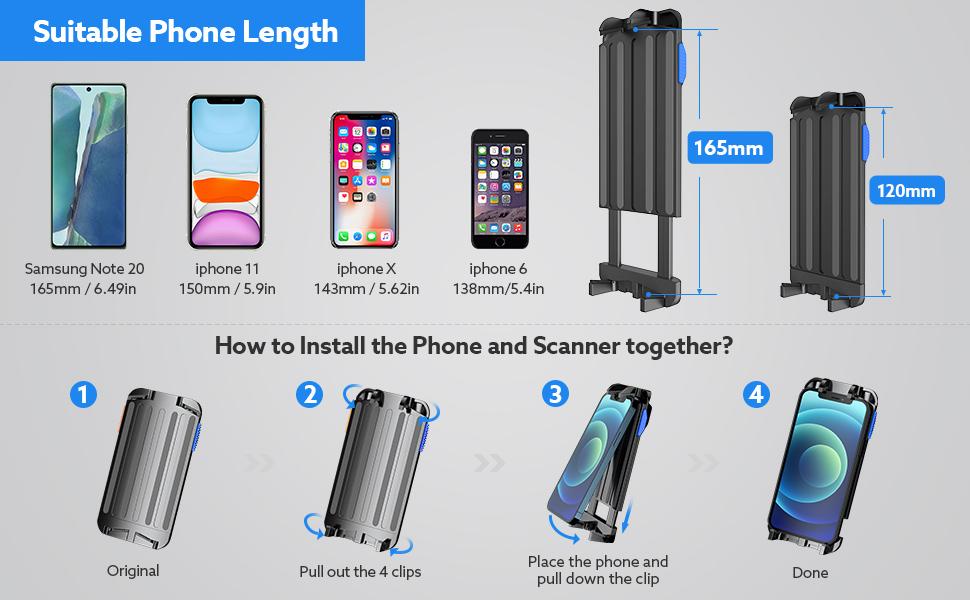 PHONE BARCODE SCANNER