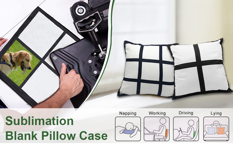 sublimation blanks panel pillow cases