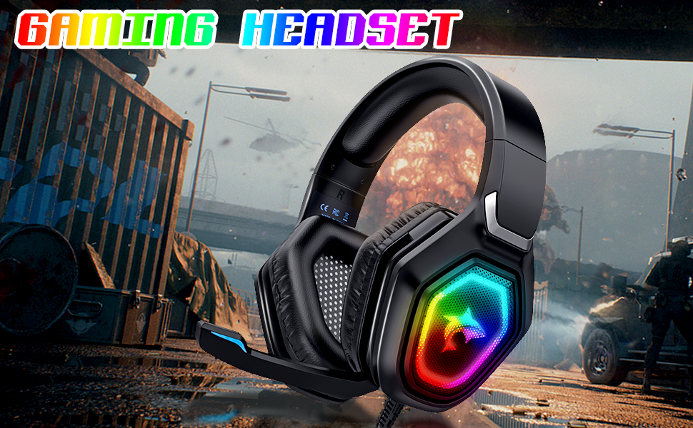 Gaming Headset Noise Cancelling