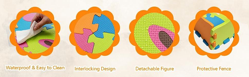Kids Foam Puzzle Floor Play Mat