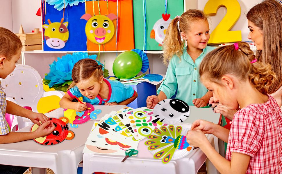 Paper Plate Art Kit for Kids