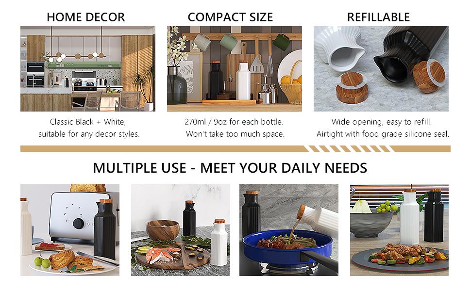 olive oil bottle oil container olive oil dispenser bottle oil and vinegar dispenser set