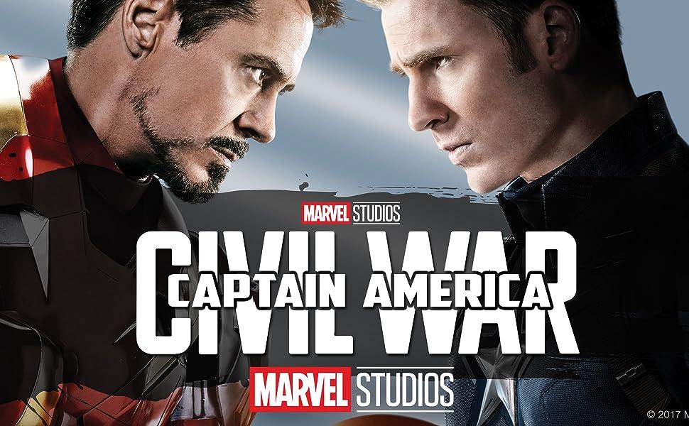 Captain America Civil War Keystone Art