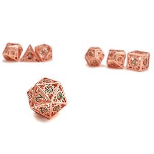 Metal hollow gear dice
