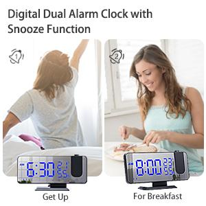 Dual Alarm Clocks