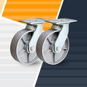 Heavy Duty Steel Swivel Caster Wheels