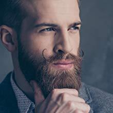beard Straightening brush for men