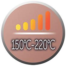 Justerbar temperaturinställning