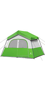 6 Person Tent-Green