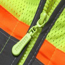 Wear resistant zipper