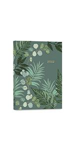 High Note 2022 Greenery 17-Month Soft Cover Planner
