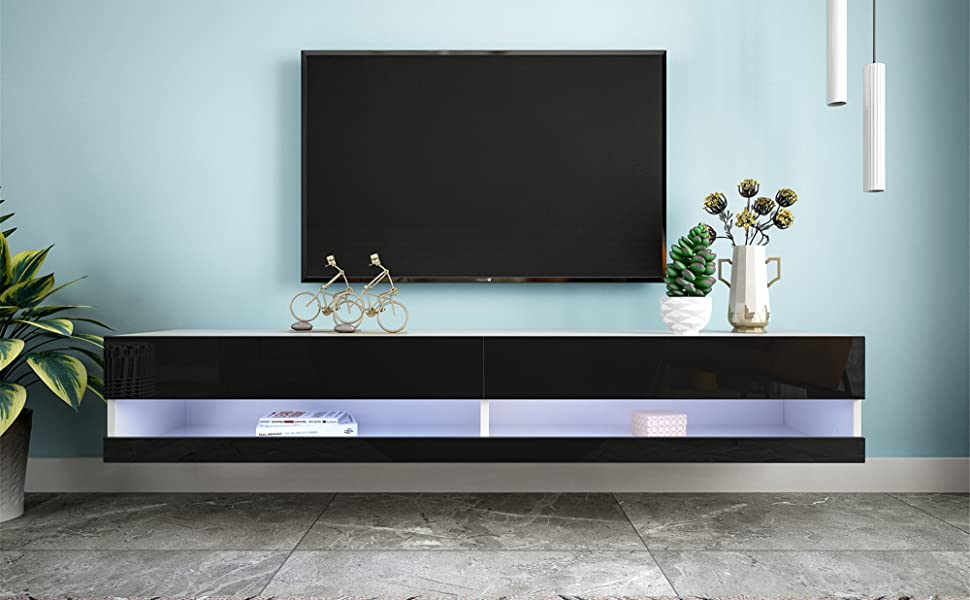 Fashionable Floating TV Stand