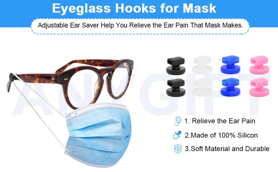 eyeglass hooks for mask