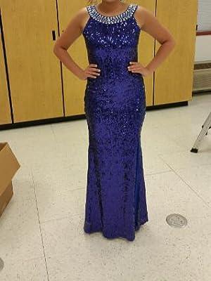 shiny sequin dress