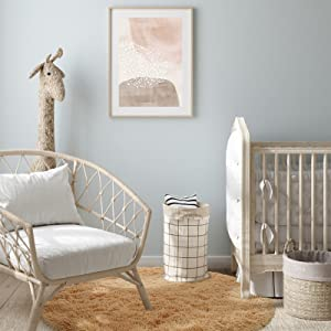 light tan nursery rug