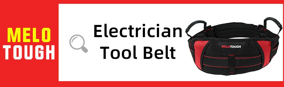 Adjustable Waist  Electrician Tool Belt