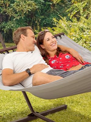 grey hammock