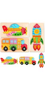 Toddler Bus Puzzles Toys
