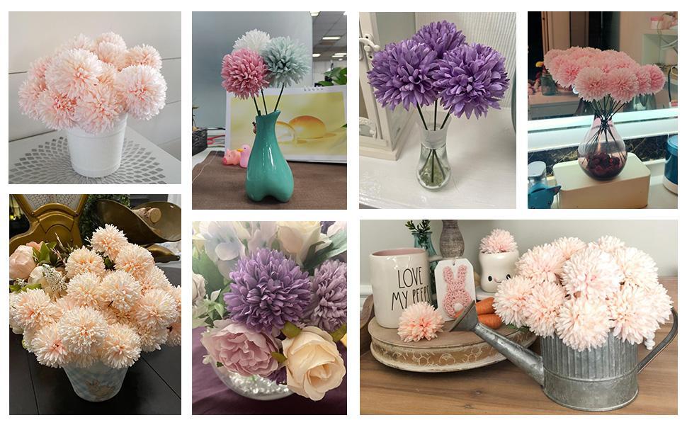 silk flowers fake flowers  artificial flowers chrysanthemum
