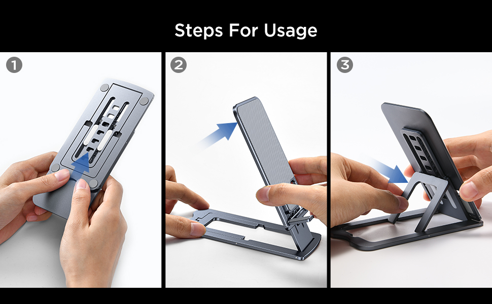 adjustable cell phone stand holder