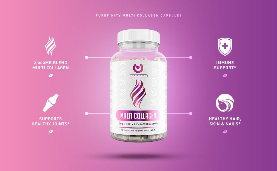 purefinity multi collagen benefits