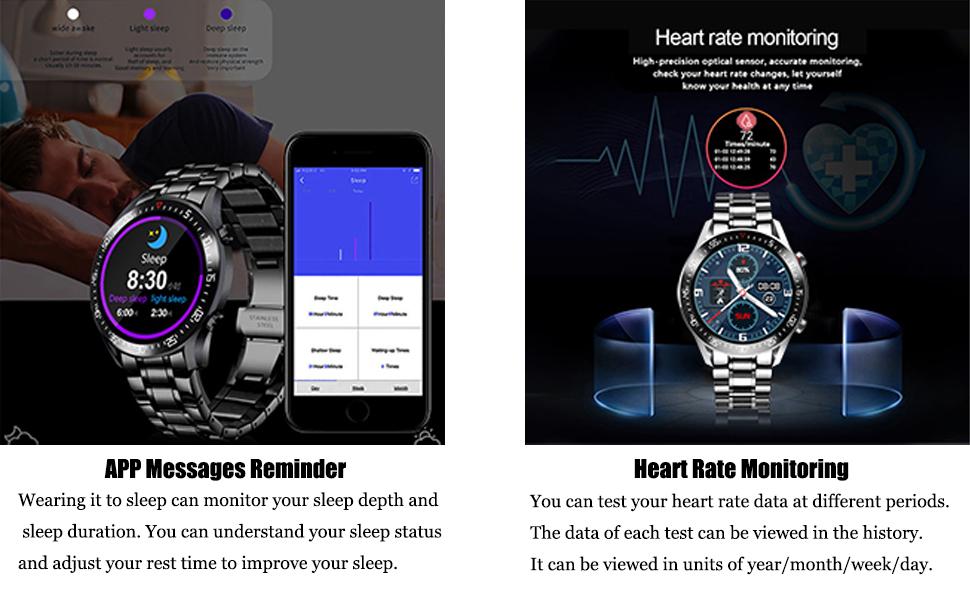 Sleep Monitoring ,Heart rate monitoring