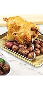 Chicken Roasting Rack cooker baking cooking beer can