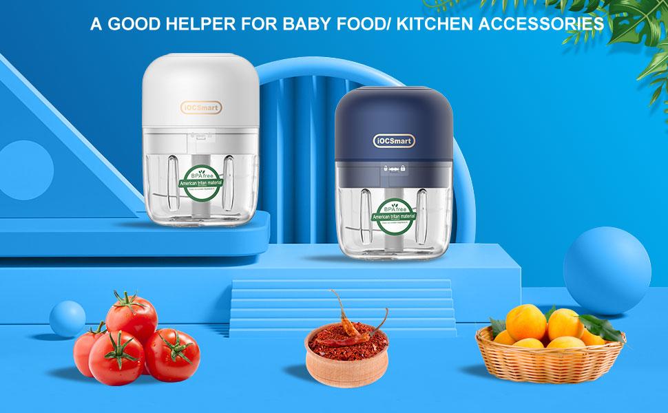 Wireless Electric Small Food Processor