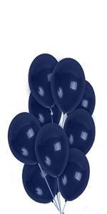 navy blue balloon